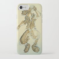 kingdom hearts iPhone & iPod Cases featuring Sora KINGDOM HEARTS coffee art by DarkGrey Heroine