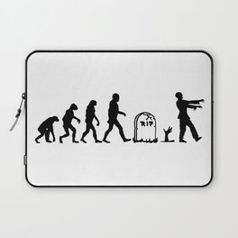 Zombie Evolution Laptop Sleeve