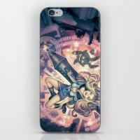 8bit iPhone & iPod Skins featuring Splashing in 8Bit by Enrico Guarnieri 'Ico-dY'