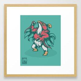 Hawlucha Framed Art Print