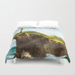 At the End of the Earth Duvet Cover