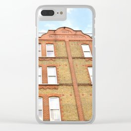1892 Brighton Building Clear iPhone Case