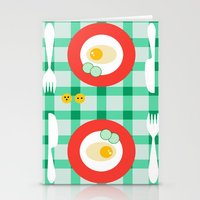 breakfast Stationery Cards featuring breakfast by vitamin