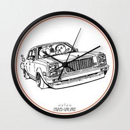 Crazy Car Art 0203 Wall Clock