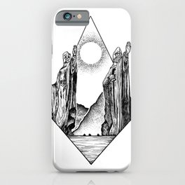 The Pillars of Kings iPhone Case