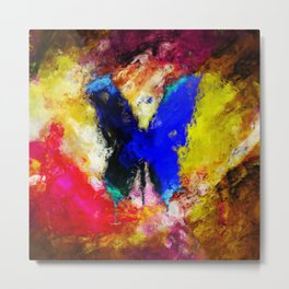colorfly Metal Print