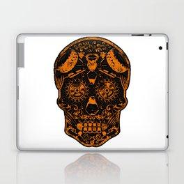 Strongman Sugar Skull, Dia De Los Deadlift Laptop & iPad Skin