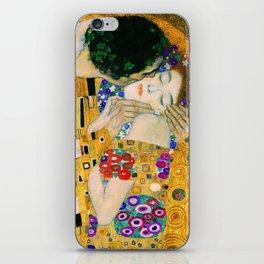 The Kiss by Gustav Klimt iPhone Skin