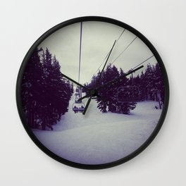 Mt. Bachelor  Wall Clock