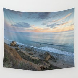 Ocean View from the Beach Wall Tapestry