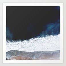 Ocean III (drone photography) Art Print