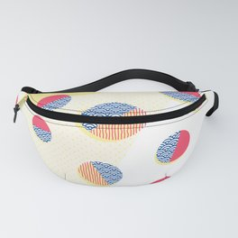 Japanese Patterns 01 Fanny Pack