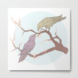 BBRae Birds Metal Print