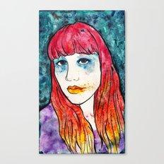 sunset blv Canvas Print
