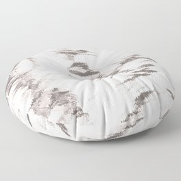 I See Beauty - Warm Black & White Floor Pillow