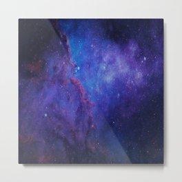 Deep Space Nebula Metal Print