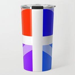 Peace Abstract 3 Travel Mug
