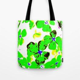 Floral Easter Egg Tote Bag