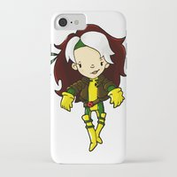 rogue iPhone & iPod Cases featuring ROGUE by Space Bat designs