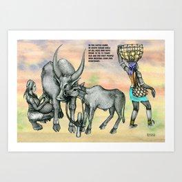 DEGKA Art Print