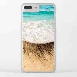 Eye sea you Clear iPhone Case