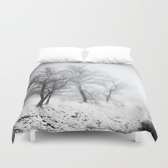 """""""Into the woods"""". Mistery forest. Duvet Cover"""