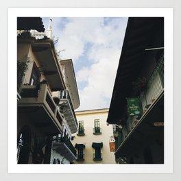 Architecture of Casco Viejo Art Print