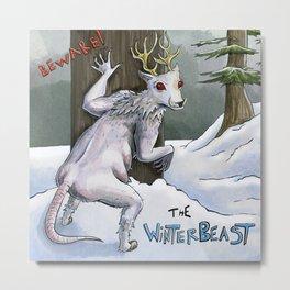 The Winterbeast Metal Print