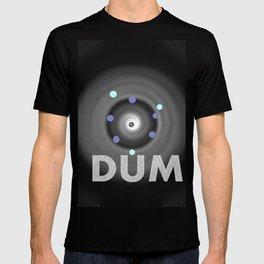 Dum! la onomatopeya del sonido del bajo en el altavoz para bailar T-shirt