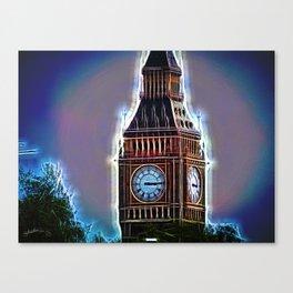 Iluminated Big Ben Canvas Print