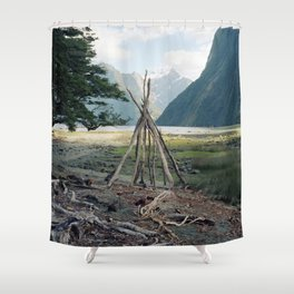 Den Shower Curtain