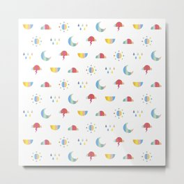 Weather Metal Print
