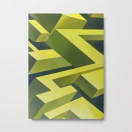 Cubic thunders Metal Print