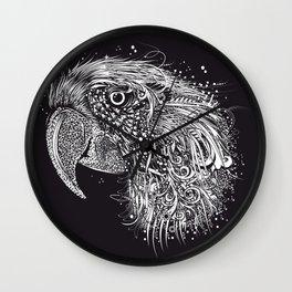 Parrot head Wall Clock