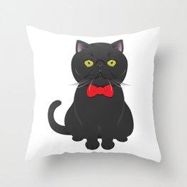 Fuji babe Throw Pillow