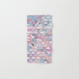 Triangle Pattern no.25 Light Pink Hand & Bath Towel