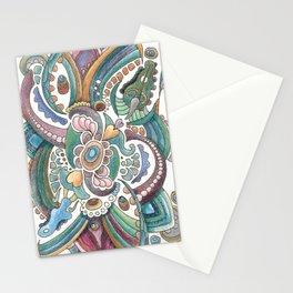 Twisted love for a sea butterfly Stationery Cards