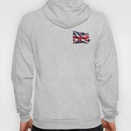 England UK National Flag Isolated 3D White Background Hoody