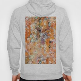 Blotchy Autumn Watercolor Pattern Hoody