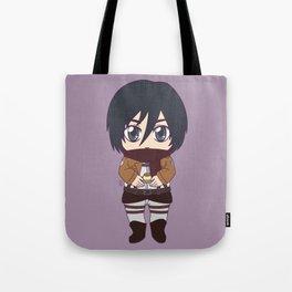 Shingeki no Kyojin - Chibi Mikasa Flats Tote Bag