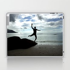 Open your mind, freedom's a state Laptop & iPad Skin