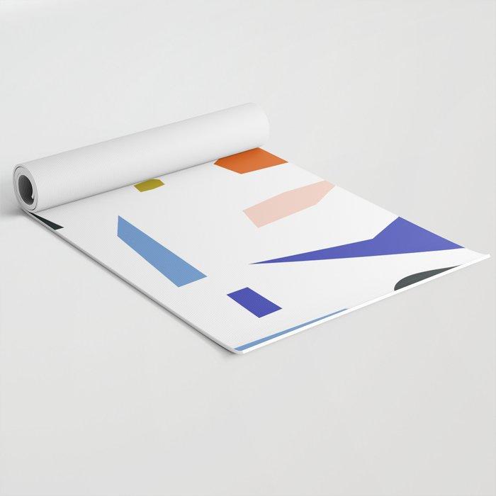 Shapes Pattern Yoga Mat