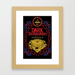I Survived the Dark Tournament Framed Art Print