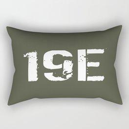 19E M48-M60 Armor Crewman Rectangular Pillow