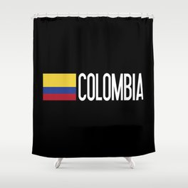 Colombia: Colombian Flag & Colombia Shower Curtain