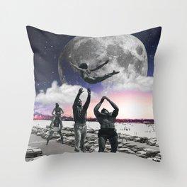 Catch Her Throw Pillow
