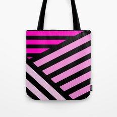 STRIPED {PINK} Tote Bag