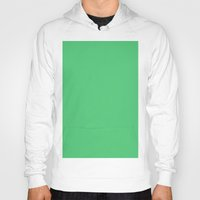 emerald Hoodies featuring Emerald by List of colors