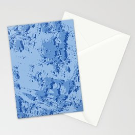 BLUE MARBLE EFFECT Stationery Cards