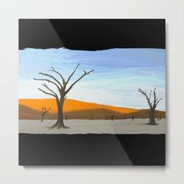 Desert trees -239 Metal Print